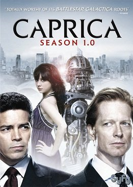 Caprica dans FILMS / SERIES caprica-1-0-dvd-art