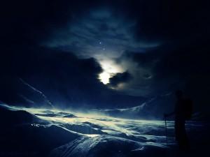 fond-ecran-neige-et-nuit